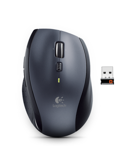 Logitech Marathon Wireless Mouse M705 - vhodná k notebooku