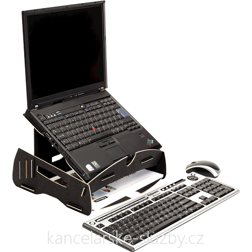 Earth Series™ Laptop Riser Black - stojan na notebook