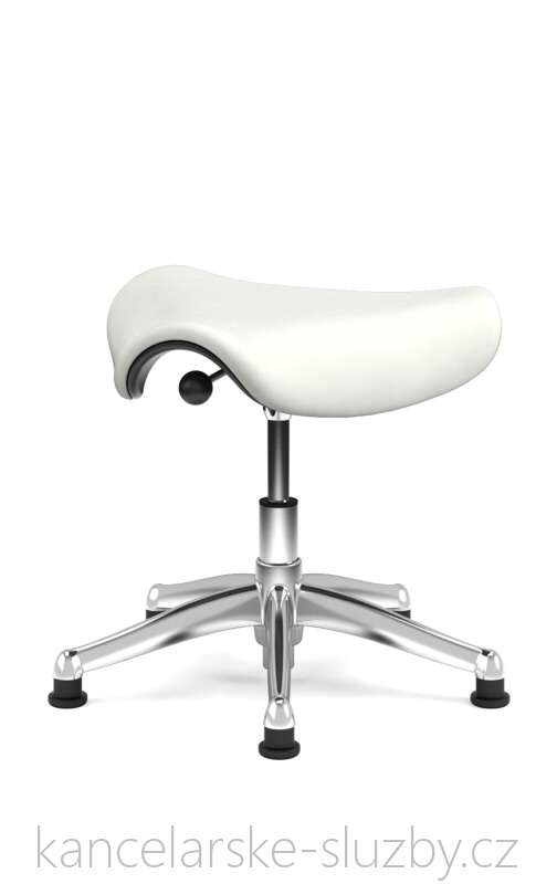 Židle Humanscale Saddle Seat F300AK128G - white