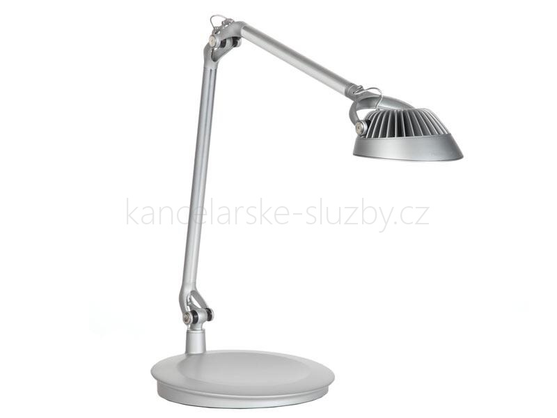 LED stolní lampa Humanscale Element Vision LED Light  - stříbrná