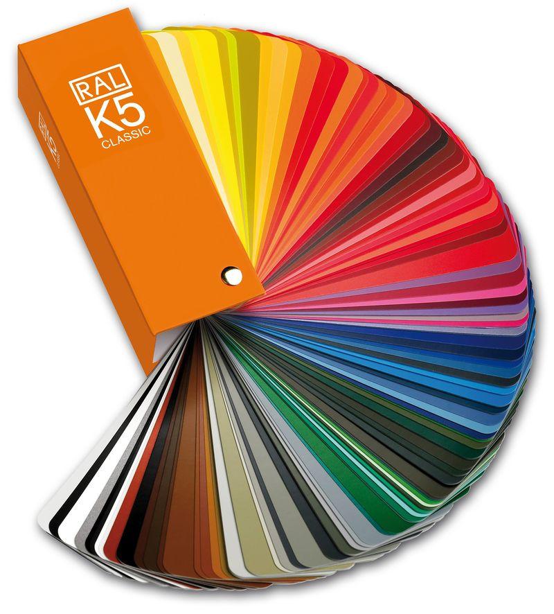 vzornik barev RAL